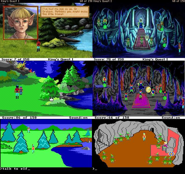 King's Quest I - Quest for the Crown (2001, Tierra Entertainment) - Diferencias.png.jpg
