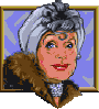 Countess Lavinia Waldorf-Carlton: A widow. Her husband, Sterling Waldorf-Carlton, the former president of the museum, died recently. Snobbish old lady who always tries to make impression on everyone.