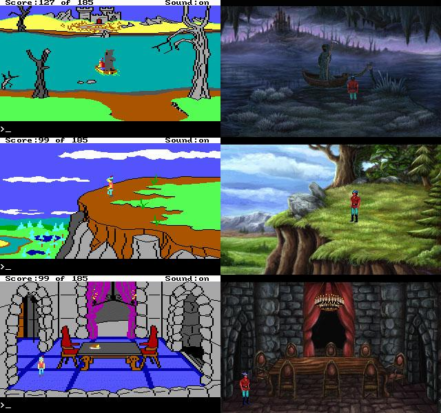 King's Quest II - Romancing the Stones - Diferencias.jpg