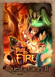Quest for Glory II - Trial by Fire (2008, AGD Interactive) - Portada.jpg