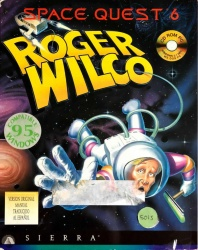 Space Quest 6 - Roger Wilco in the Spinal Frontier - Portada.jpg
