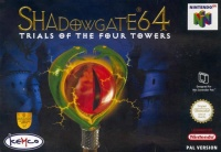 Shadowgate 64 - Trials of the Four Towers - Portada.jpg