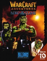 Warcraft Adventures - Lord of the Clans - Portada.jpg