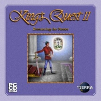King's Quest II - Romancing the Stones (2002, AGD Interactive) - Portada.jpg