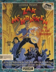 Zak McKracken and the Alien Mindbenders - Portada.jpg