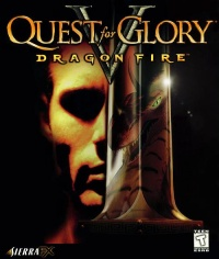 Quest for Glory V - Dragon Fire - Portada.jpg