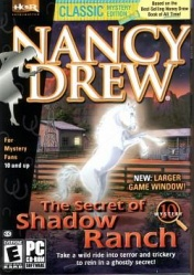 Nancy Drew - The Secret of Shadow Ranch - Portada.jpg