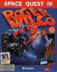 Space Quest IV - Roger Wilco and the Time Rippers - Portada.jpg