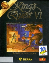 King's Quest VI - Heir Today, Gone Tomorrow - Portada.jpg