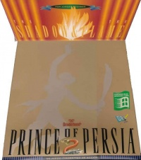 Prince of Persia 2 - The Shadow & the Flame - Portada.jpg