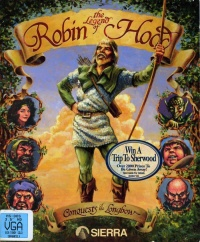 Conquests of the Longbow - The Legend of Robin Hood - Portada.jpg