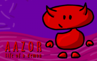 Aazor - The Life of a Demon - Part I - The Beginning - Portada.png