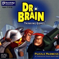 Dr. Brain Thinking Games - Puzzle Madness - Portada.jpg