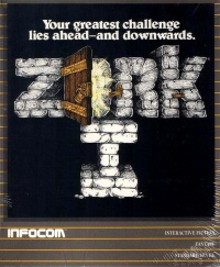 Zork - The Great Underground Empire - Portada.jpg